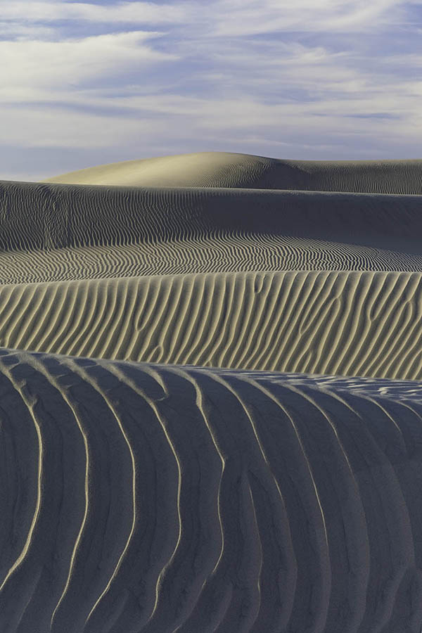 """Bart Carrig """"Waves"""" at the Mesquite Dunes, Death Valley, California 