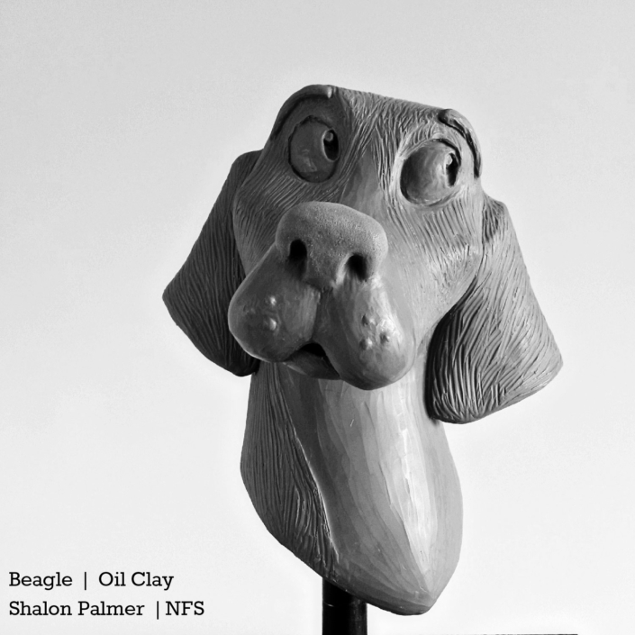 Shalon Palmer | Beagle | Oil Clay | NFS