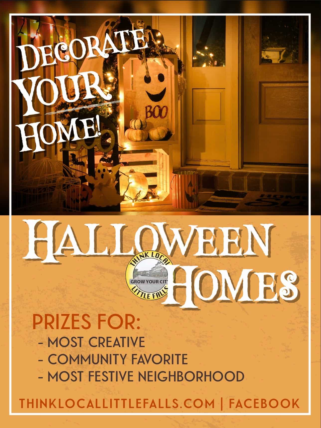 Vote for your favorite LF Halloween Home!